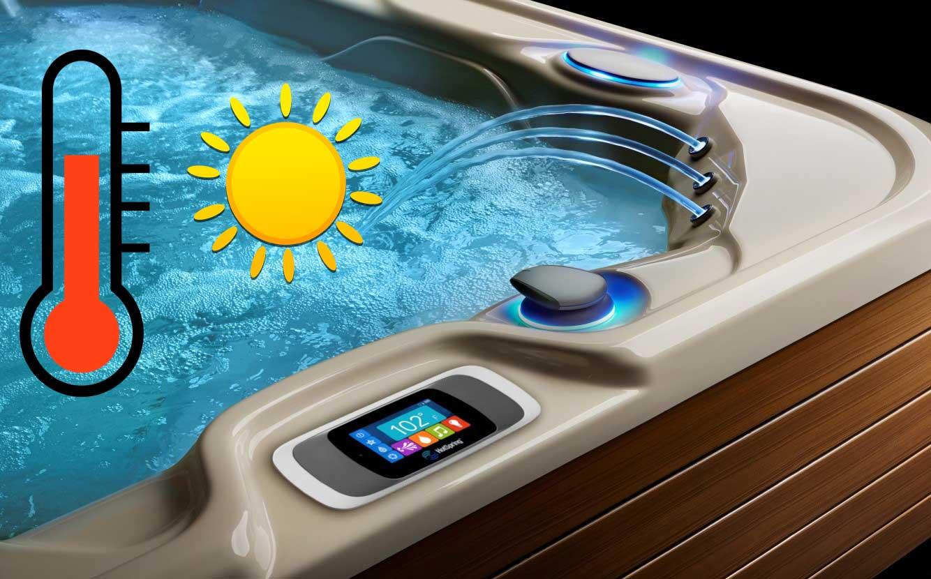 hot tub water temperature