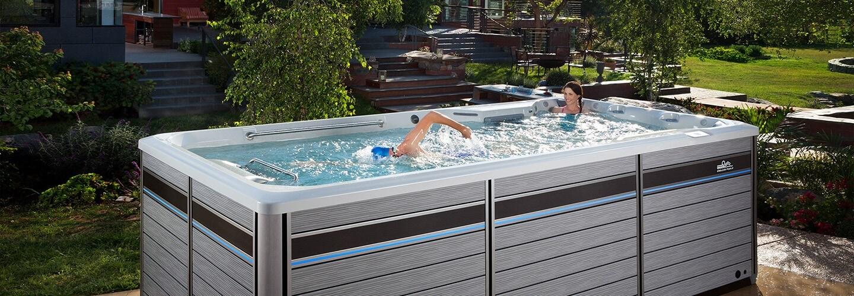 swim spa dimensions